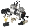 SilentAire Scorpion II Heavy-Duty Airbrush Compressor