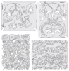 Return of Skull Master Templates, Set of 4