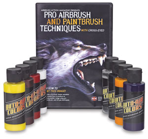 Pro Airbrush Set