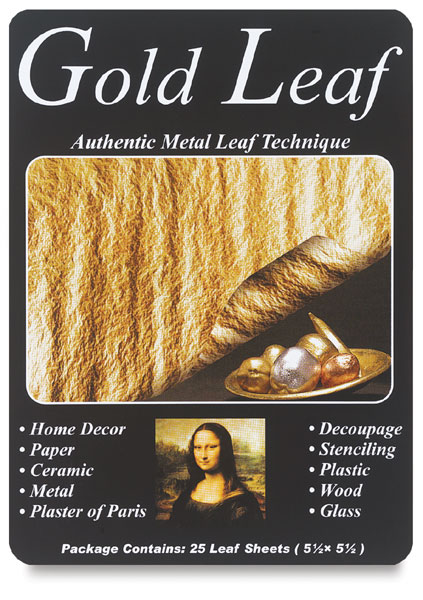 Mona Lisa Imitation Gold Leaf Blick Art Materials
