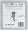 Silver Leafing, 25 Sheets