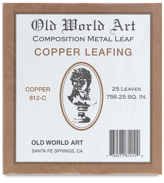 Copper Leafing, 25 Sheets