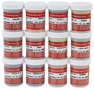 Decorating Color Set #3, 2 oz