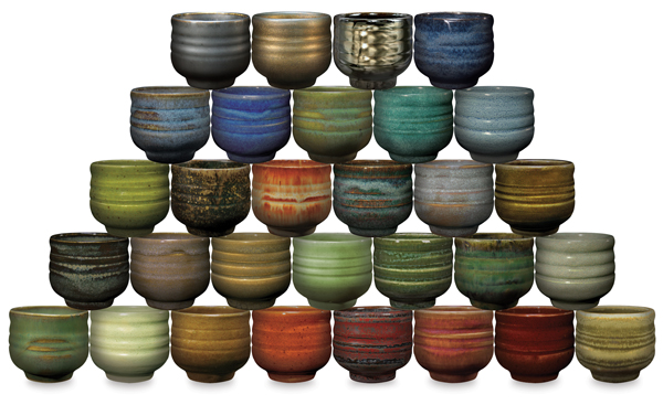 Potter's Choice Glazes (Sample Artwork)