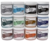 Teacher's Palette Glazes, Class Pack of 12 (8 oz Containers)