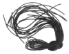 Black Leather Cords, Pkg of 12