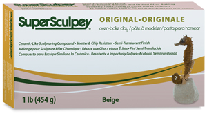 Super Sculpey, 1&amp;nbsp;lb Package