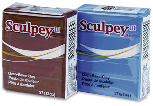 Sculpey III, 2&amp;nbsp;oz Blocks