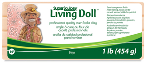 Living Doll Clay, Beige