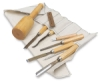 Sculpture House Wood Carving Set in Canvas Roll
