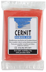 Cernit Polymer Clay, Red