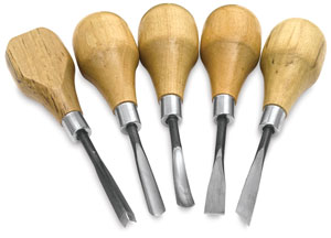 Sculpture House Wood and Linoleum Carving Kit