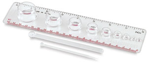 Clay Mixing Ruler