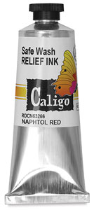 Safe Wash Relief Ink, 75&amp;nbsp;ml Tube