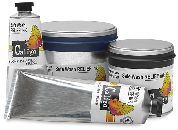 Safe Wash Relief Inks