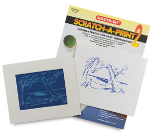 Scratch-a-Print, Set of 10
