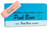 Pink Bear Eraser, Pkg of 12