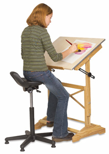 Alvin Synchro Tilt Painter S Stool Blick Art Materials
