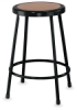 Fixed Height Stool, Black&nbsp; NEW! 