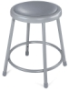 National Public Seating Corp. Padded Stool