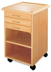 3-Drawer Taboret