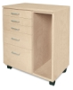 5-Drawer Taboret