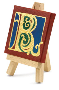 Mini Easel (Canvas sold separately)