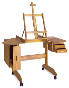 Mabef Painting Workstation Easel M 30 BLICK art materials