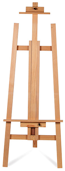 Adjustable Pine Lyre Easel