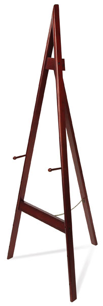 Xylem Adjustable A-Frame Easel, Rosewood