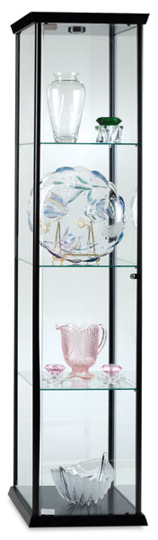 Visions Series Display Case, Black