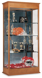 Varsity Series Display Case, Mirror Back
