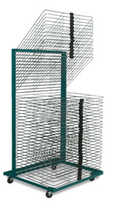 40-Shelf Drying Rack with 18&quot; &amp;times; 24&quot; Shelves
