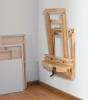 Wallmount Easel, Shown in Use