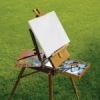 Easel in Use (Supplies Not Included)