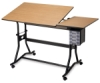 Alvin CraftMaster III Split Top Deluxe Hobby and Drawing Station