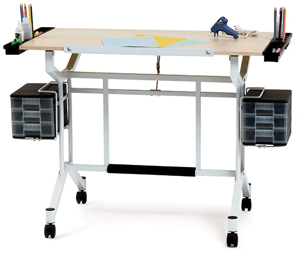 Tall Folding Craft Table