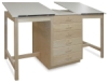 Hann Dual Station Drafting Table