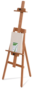 Cherrywood Yahzi A-Frame Easel w/  FREE  11&amp;quot; &amp;times; 14&amp;quot; painting panel