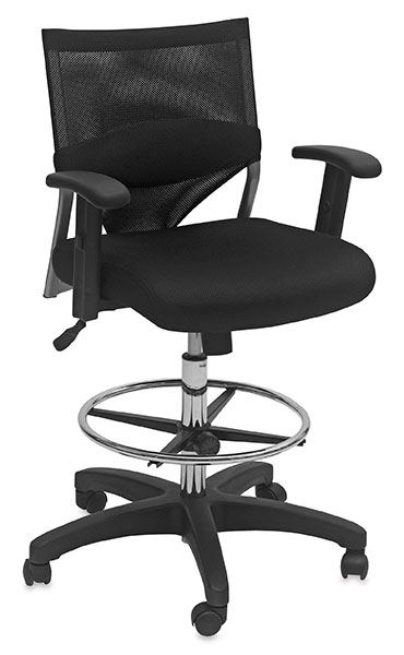 Comfort-Mesh Drafting Chair