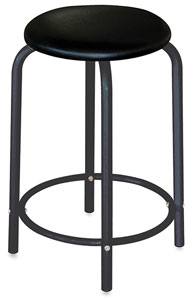 Studio Stool, Black Base