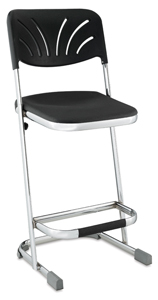 Elephant Z-Stool with Backrest, 24&amp;quot;H