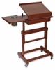 Rolling Painting Table as Easel, Front View