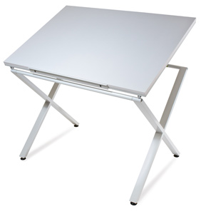 X-Factor Drawing &amp; Hobby Table, White&amp;nbsp; NEW! 