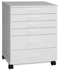 6-Drawer Taboret