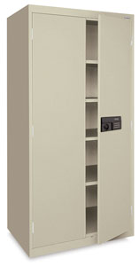 Keyless Electronic Storage Cabinet