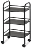 Alvin Blue Hills Studio Mobile Shelf Cart