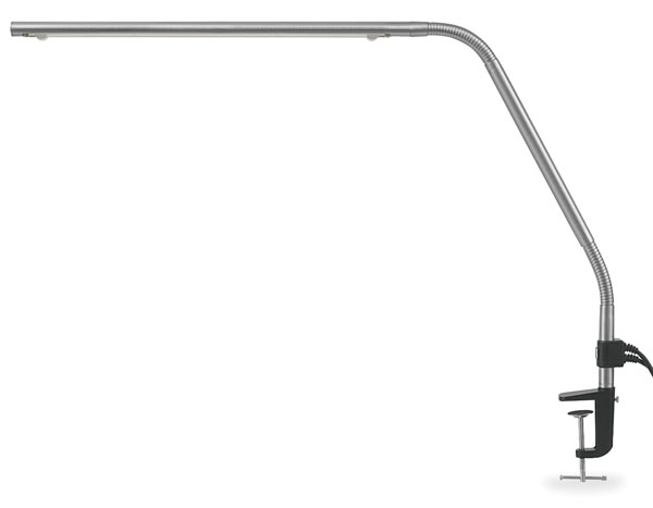 Slimline Lamp, Stainless Steel