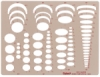 4-in-1 Ellipse Template