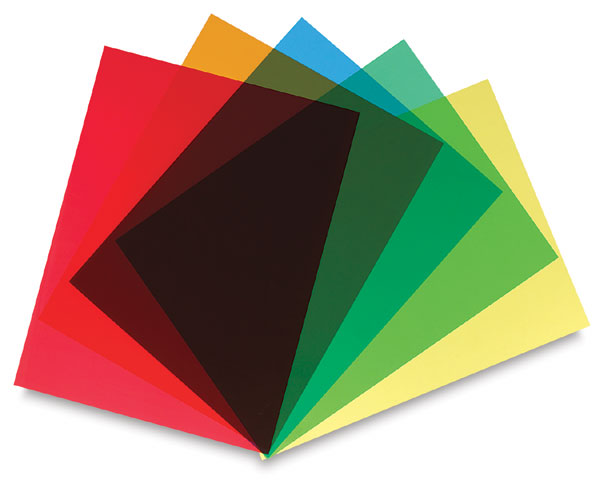 Grafix Clear Lay Assorted Colors Blick Art Materials
